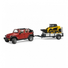 Bruder 02925 Jeep + CAT